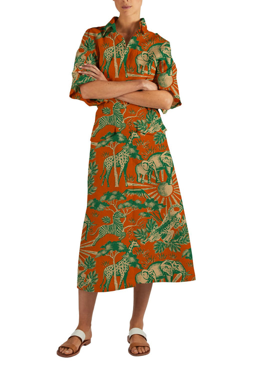 Giraffe Safari Dress