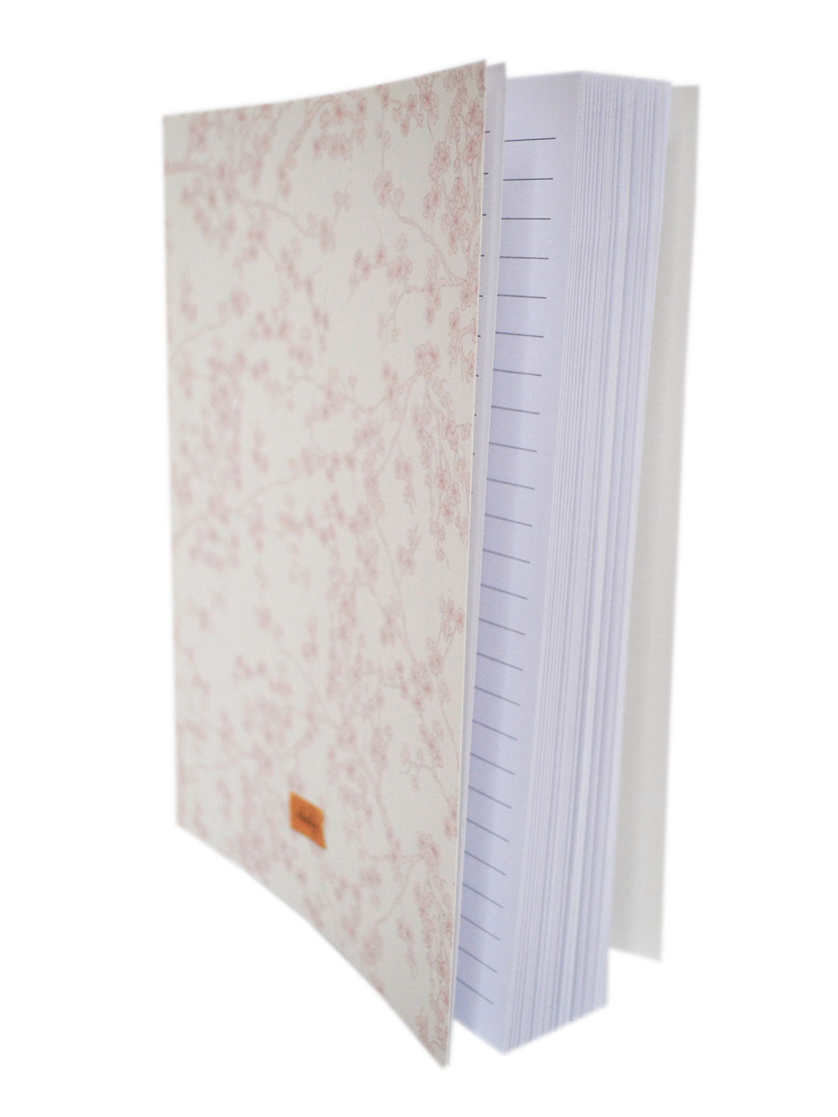 White Cherry Blossoms Notebook