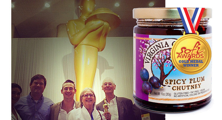 Spicy Plum wins SOFI gold for Outstanding Condiment 2013!