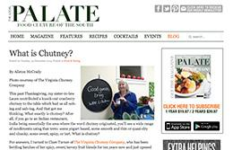 Clare Turner Interviewed by The Local Palate, Dec 2013