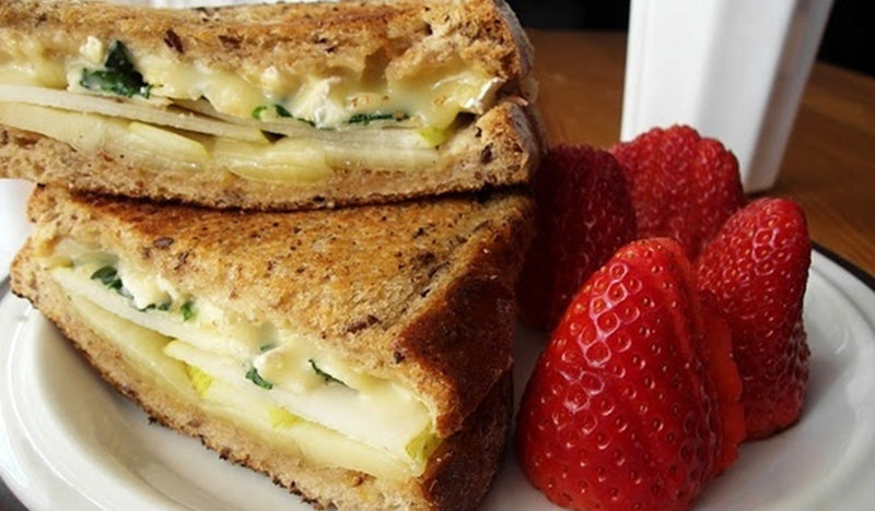 Bartlett Pear Grilled Cheese