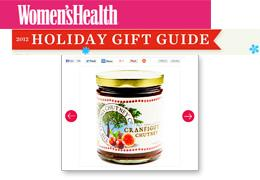 VCC Featured in Women's Health Holiday Gift Guide, Nov 2012