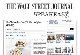 Featured in the Wall Street Journal's Holiday Guide, Nov 2012