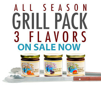 Grilling 3-Pack of Chutney