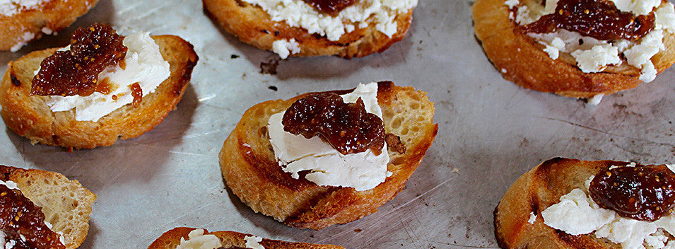 Fig Chutney and Chevre