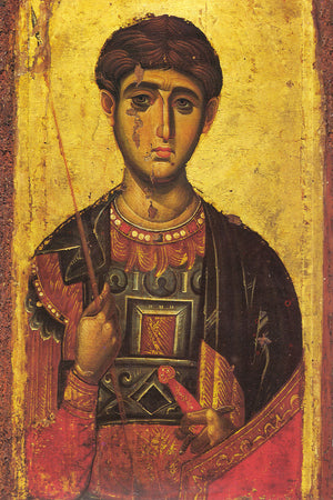 The Intercession of the Saints - A Homily on the Feast of the Great-martyr Demetrios of Thessalonika - Holy Cross Monastery