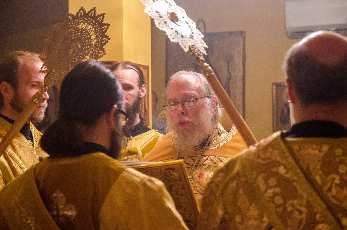 Festal Celebration of Archimandrite Seraphim's Namesday