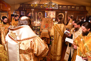 Holy Cross Celebrates the Feast of St. Panteleimon, Tonsures, and Blessing of New Church Site
