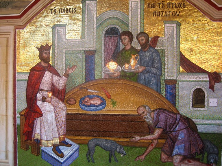 Sermon on the Rich Man and Lazarus (23rd Sunday after Pentecost, 2015)