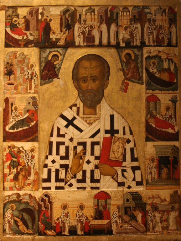 Sermon for the Feast of St. Nicholas 2014