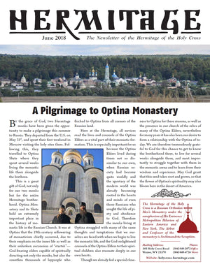 2018 Summer Newsletter and Pilgrim's Guide