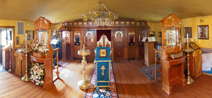 Two New Shrines in the Monastery Chapel