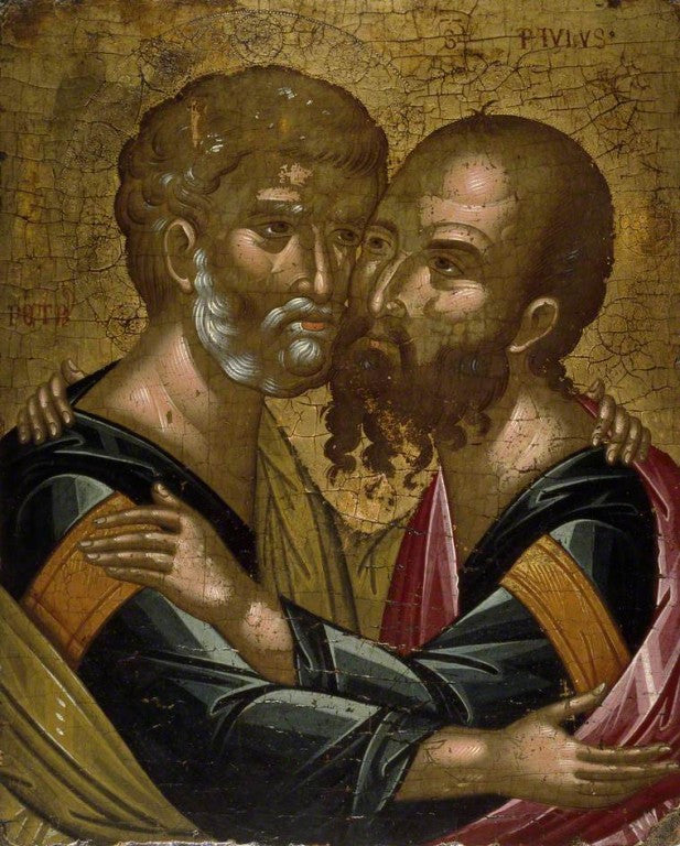Sermon for the Feast of the Holy Apostles Peter & Paul 2015