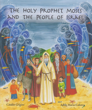 Holy Prophet Moses And The People Of Israel - Holy Cross Monastery