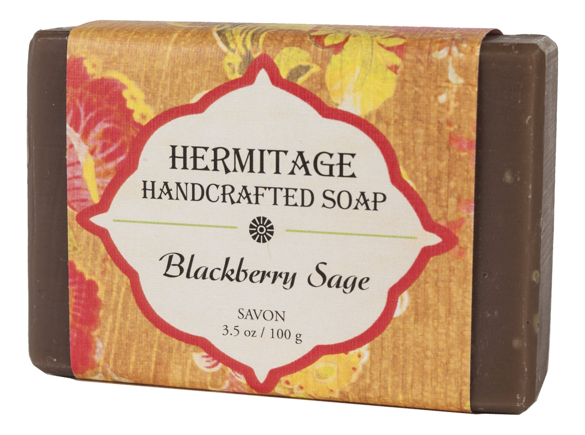 Blackberry Sage Bar Soap - Holy Cross Monastery