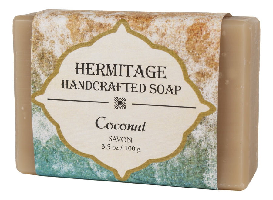 Coconut Bar Soap - Holy Cross Monastery