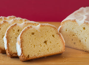 Glazed Lemon Pound Cake - Holy Cross Monastery
