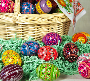 Paschal Pysanky Egg - Holy Cross Monastery