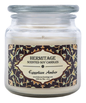 Egyptian Amber Scented Candle - Holy Cross Monastery