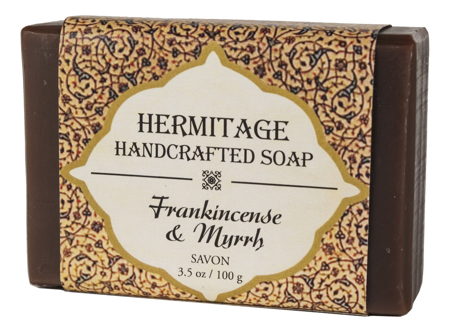 Frankincense & Myrrh Bar Soap - Holy Cross Monastery