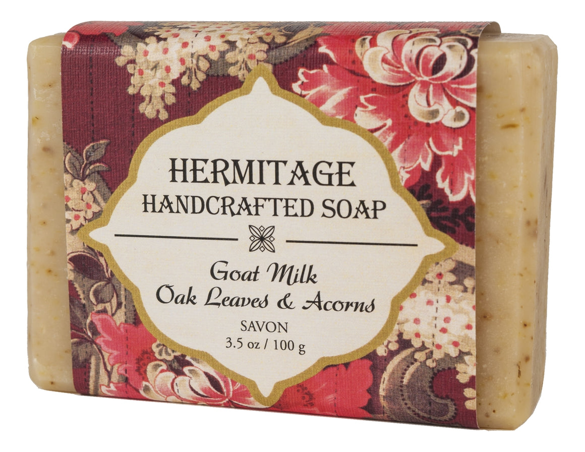 Goat Milk Oak Leaves & Acorns Bar Soap - Holy Cross Monastery
