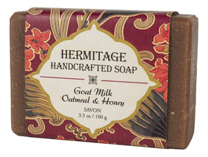 Goat Milk Oatmeal & Honey Bar Soap - Holy Cross Monastery
