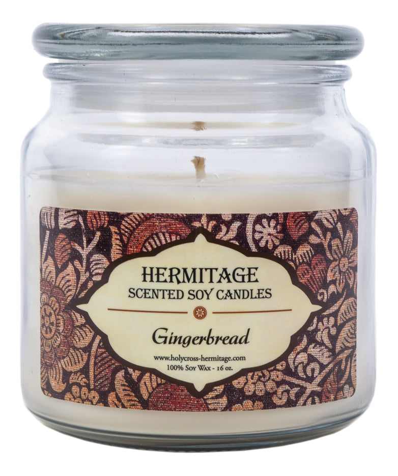 Gingerbread Scented Candle - Holy Cross Monastery