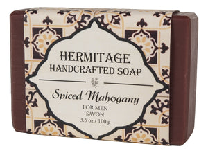 Spiced Mahogany Bar Soap - Holy Cross Monastery