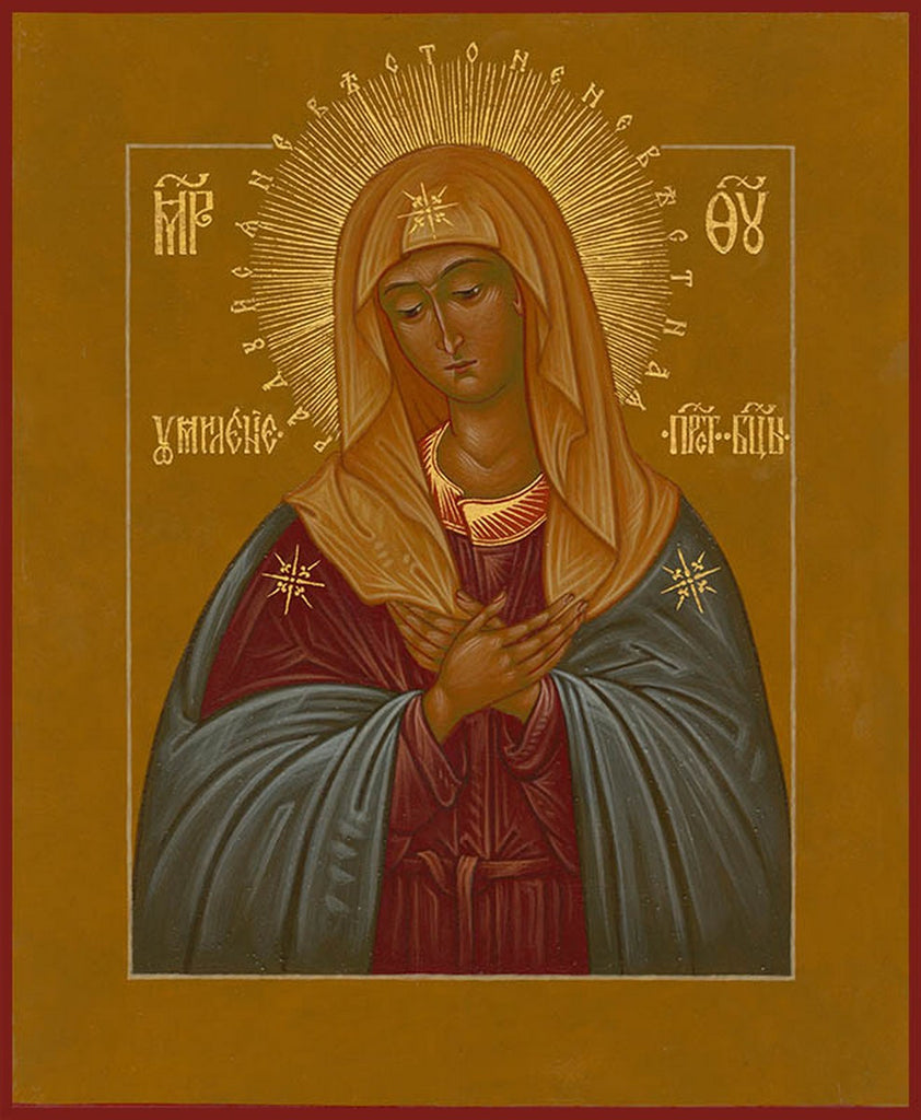 Tenderness Icon of the Mother of God (Hermitage)