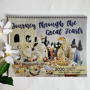 2020 Orthodox Children's Calendar - Journey through the Great Feasts [Old Calendar Edition] - Holy Cross Monastery