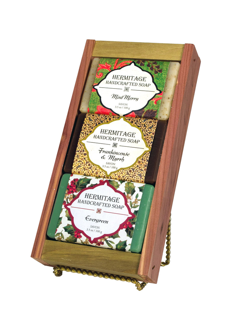 Christmas Soap Gift Crate