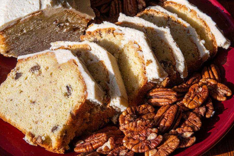 Maple Pecan Pound Cake