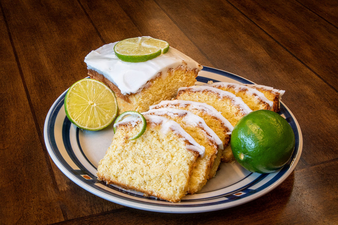 Key Lime Pound Cake
