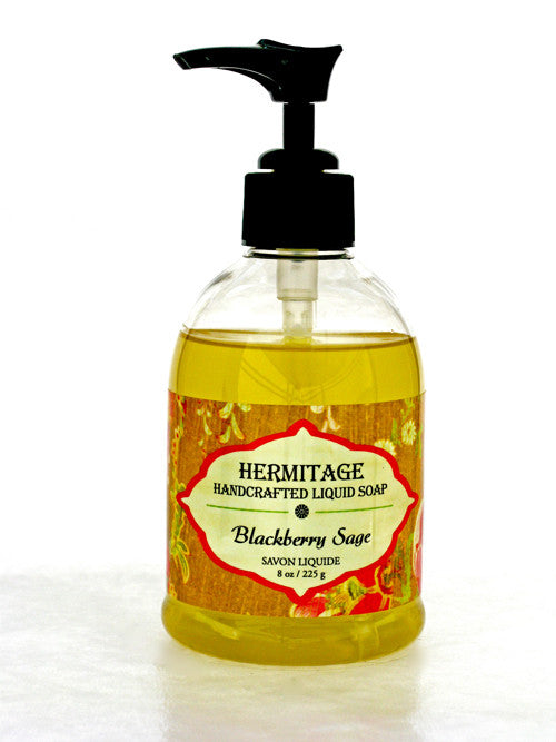 Blackberry Sage Liquid Soap - Holy Cross Monastery