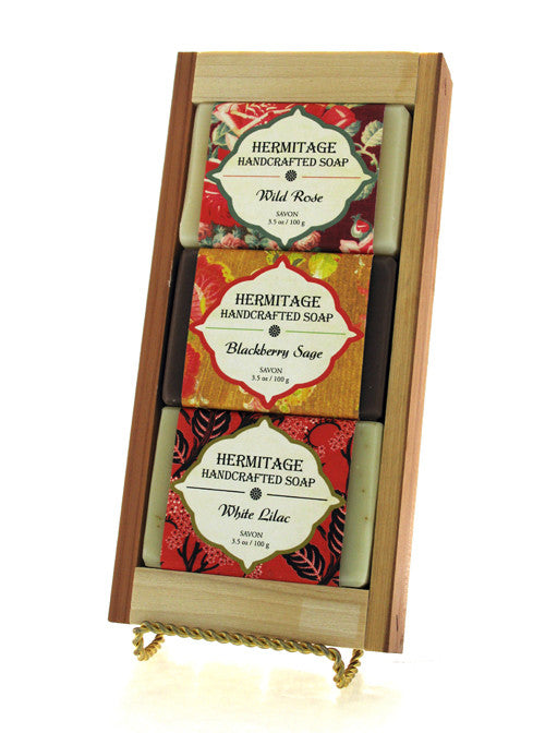 Blossoms Soap Gift Crate