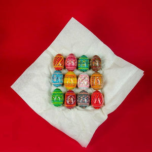 Paschal Pysanky Egg Gift Box - Holy Cross Monastery