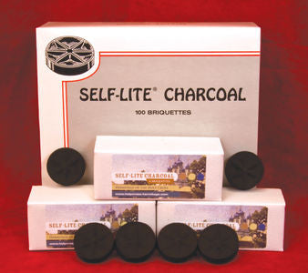 SELF-LITE Charcoal - 100pc. Box