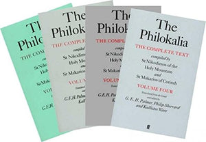 The Philokalia - The Complete Text (4 Volume Set) - Holy Cross Monastery