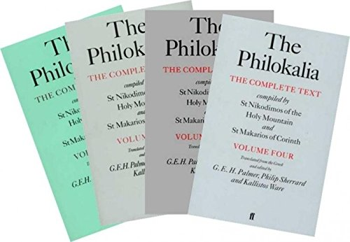 The Philokalia - The Complete Text (4 Volume Set)