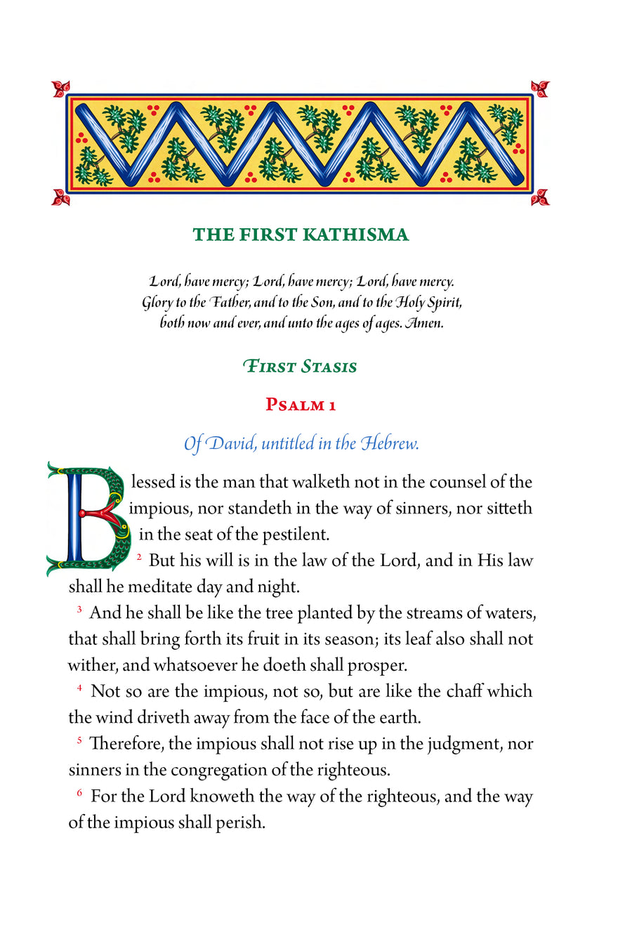 The Psalter (CTOS)