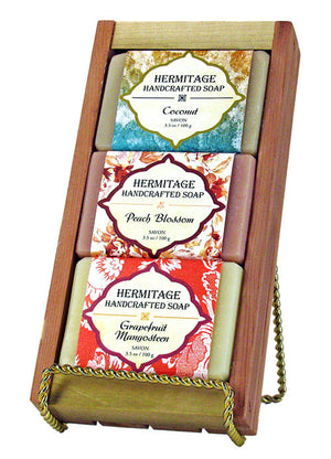 Summer Soap Gift Crate - Holy Cross Monastery