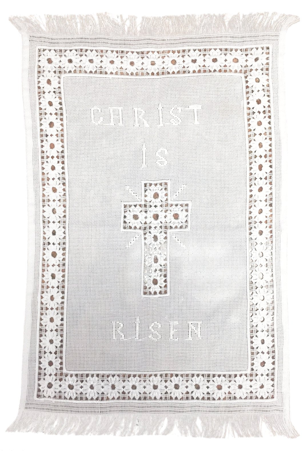Pascha Basket Cover - Holy Cross Monastery