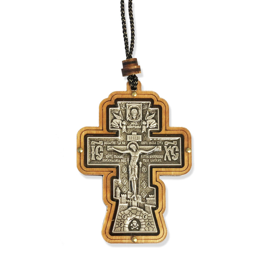 Car Cross Pendant