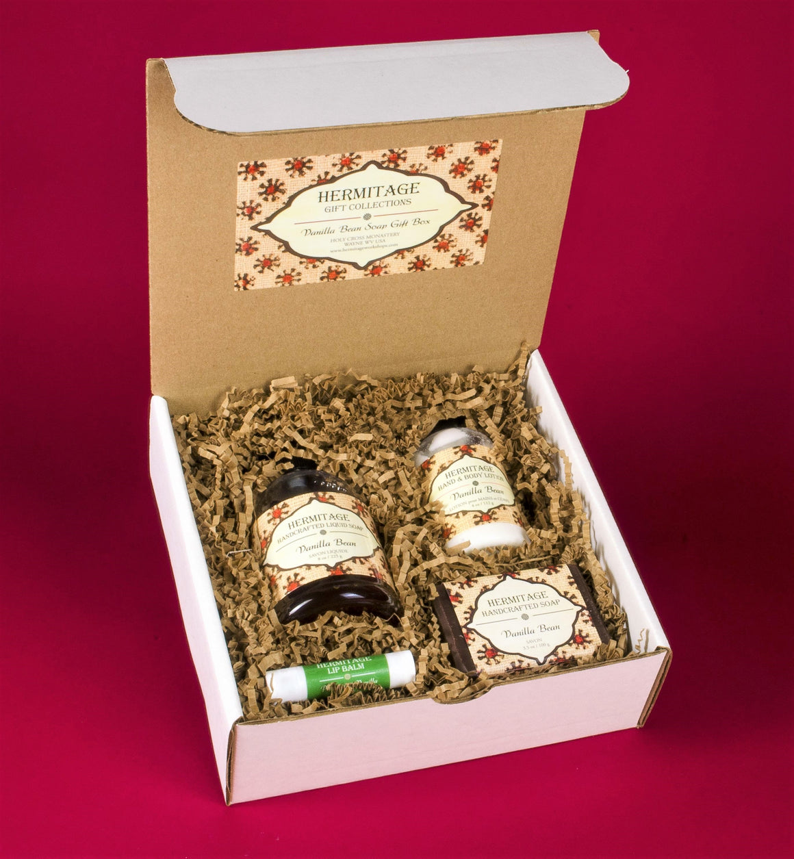 Vanilla Bean Soap Gift Box