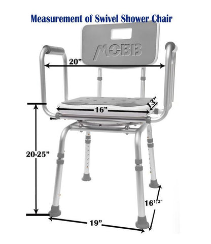 Swivel shower chair 2.0 By MOBB