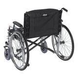 "Adjustable Tension Back Cushion for 22""-26"" Wheelchairs"