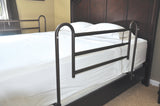 Home Bed Style Adjustable Length Bed Rails, 1 Pair