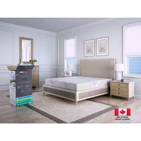"GEL Series 10"" Bed in a Box Mattress by Obusforme"