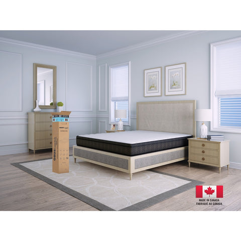 "GEL Series 8"" Bed in a Box Mattress by Obusforme"
