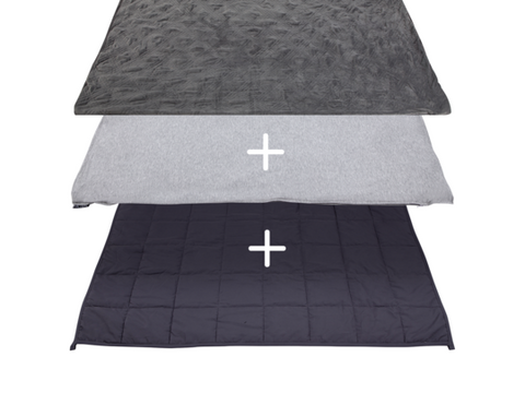 Hush 2-in-1 weighted Blanket bundle